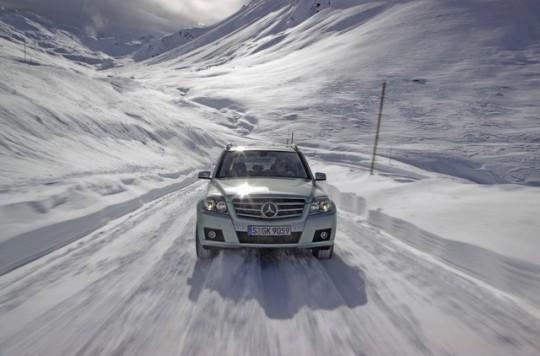 zimowa jazda